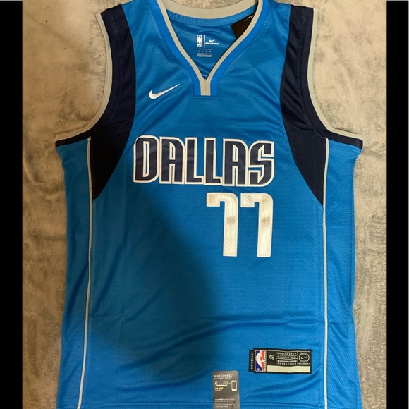 best service 6459f 8581b Luka Doncic #77 Dallas Mavericks Jersey NWT